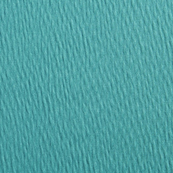 A0260d Teal Green Solid Textured Wrinkle Look Upholstery Fabric By The Yard