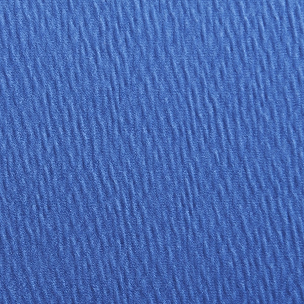 A0260c Blue Solid Textured Wrinkle Look Upholstery Fabric By The Yard