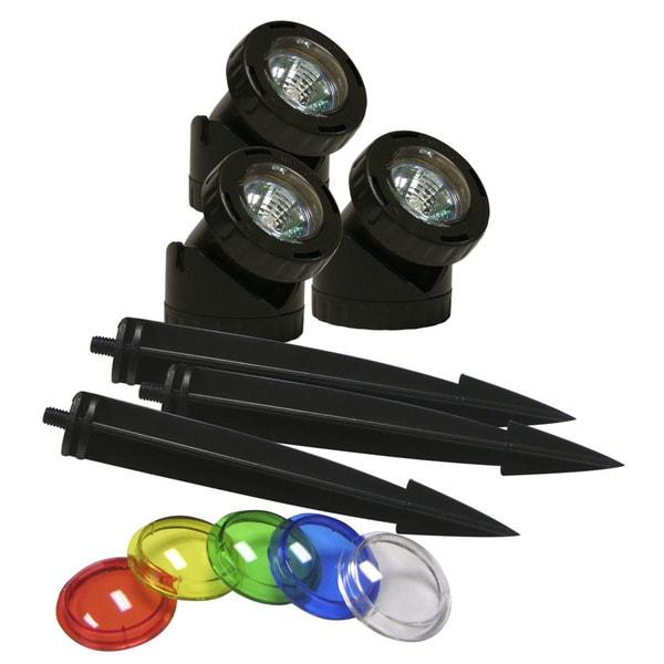Power Bean Color Lenses 10-watt Lights (Set of 3)