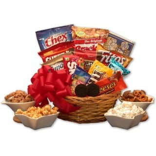Snack Lovers Gift Basket