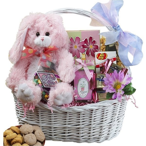 Art of Appreciation My Special Bunny Easter Gift Basket with Plush Bunny Rabbit
