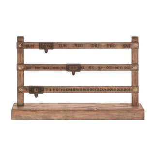 Farmhouse Fencepost Calendar