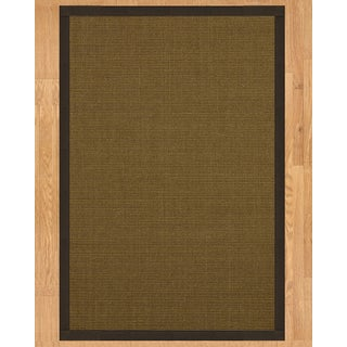 Handcrafted St. Tropez Sisal 9' x 12' Rug - Fudge