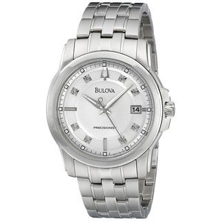 Bulova Men's 96D118 'Precisionist' Crystal Stainless Steel Watch