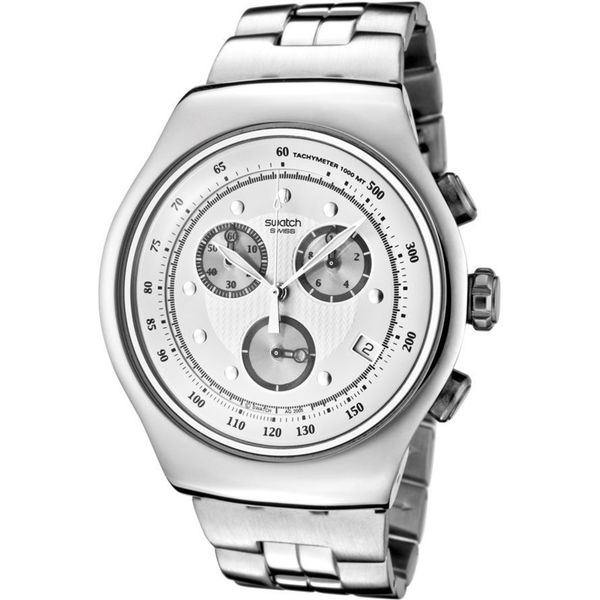 Swatch Men's YOS401G 'The Chrono' Chronograph Stainless Steel Watch