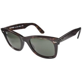 Ray-Ban RB2140 54mm Tortoise/ Crystal Green Wayfarer Sunglasses