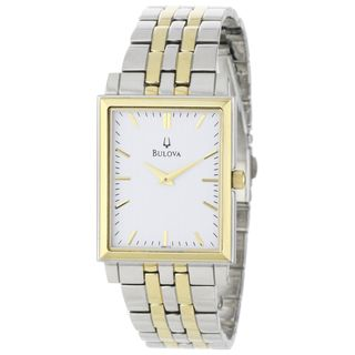 Bulova Men's 98A115 Two-Tone Stainless Steel Watch