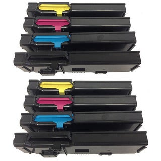 Dell Color Laser C2660dn C2665dnf Series Printers Toner Cartridge (Pack of 8)