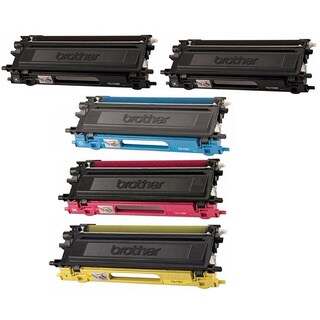 5 Pack Color set Replacing Brother TN-115 115C 115M 115Y 115K Toner Cartridge