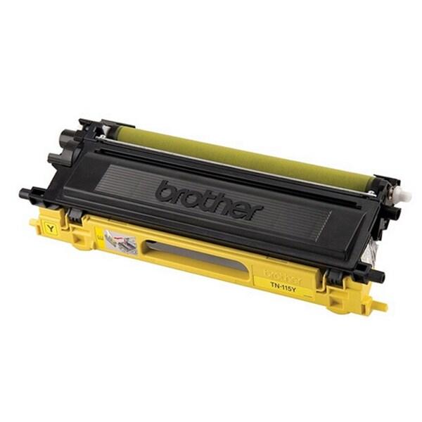 Replacing Brother TN-115 115Y Yellow Toner Cartridge