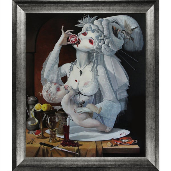 Adrian Borda 'The Pursuit of Happiness' Framed Fine Art Print