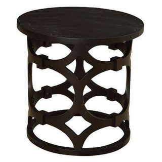 Tuxedo Round End Table