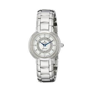 Bulova Women's 96R169 Diamond Stainless Steel Watch