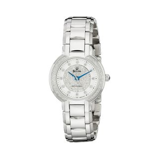 Bulova Women's 96R170 Diamond Stainless Steel Watch