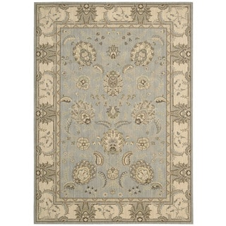 Nourison Persian Empire Aqua Rug (3'6 x 5'6)