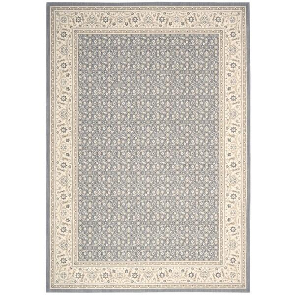 Nourison Persian Empire Silver Rug (3'6 x 5'6)