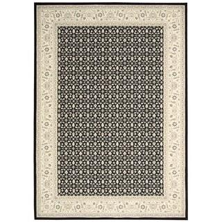 Nourison Persian Empire Black Rug (7'9 x 10'10)