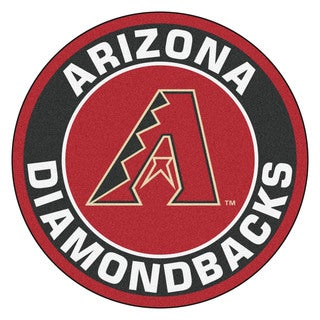 Fanmats MLB Arizona Diamondbacks Burgundy Nylon Roundel Mat (2'3 x 2'3)