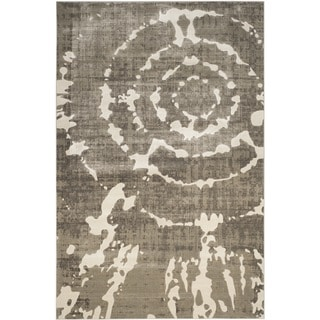 Safavieh Porcello Grey/ Ivory Rug (8'2 x 11')