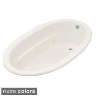 Kohler Sunward 6 Foot Whirlpool Tub with Reversible Drain