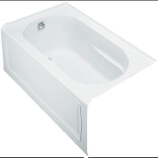 Kohler Devonshire 5 Foot Acrylic Whirlpool Bath Tub with Left-hand Drain in White