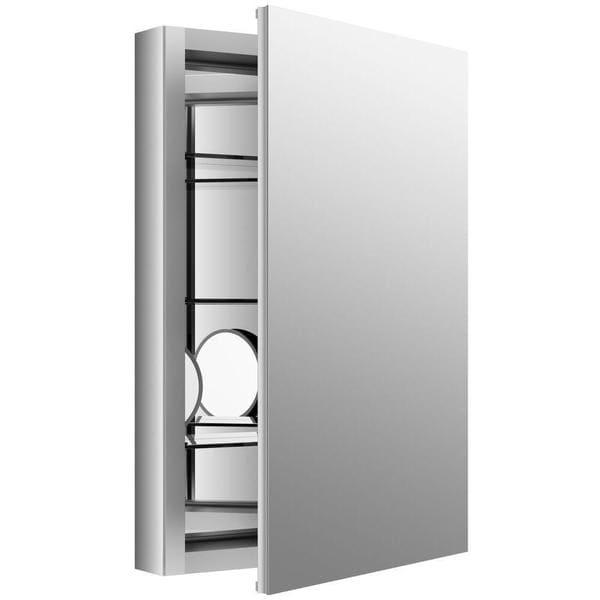 Kohler Verdera Anodized Aluminum Recessed Medicine Cabinet