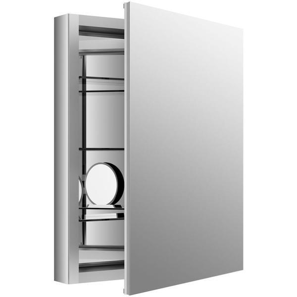 kohler verdera 24 inch w x 30 inch h recessed medicine cabinet in