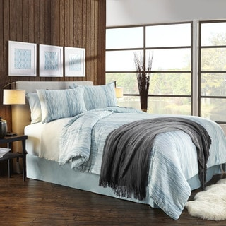 Grove Hill Elements Cotton 3-piece Duvet Cover Set