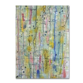 Sylvie Demers 'Air du Temps 1' Gallery Wrapped Canvas Art