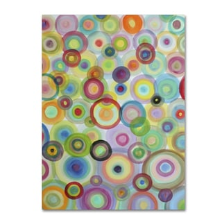 Sylvie Demers 'Bulles' Gallery Wrapped Canvas Art