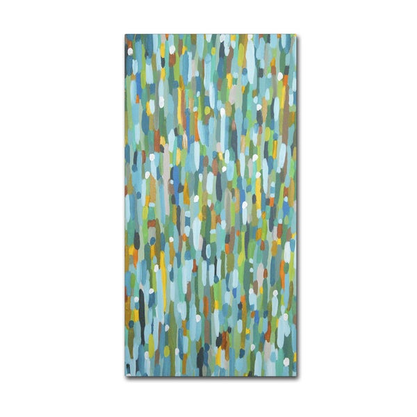 Sylvie Demers 'Les Uns Contre Les Autres' Gallery Wrapped Canvas Art