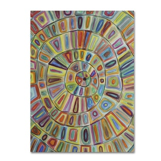 Sylvie Demers 'Ma Cible' Gallery Wrapped Canvas Art