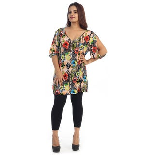 Women's Plus Size Hawaiian Dress
