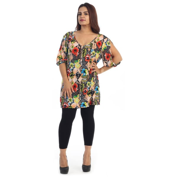 Women's Plus Size Hawaiian Dress
