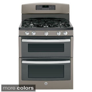 GE 30-inch Free-standing Gas Double Oven Range