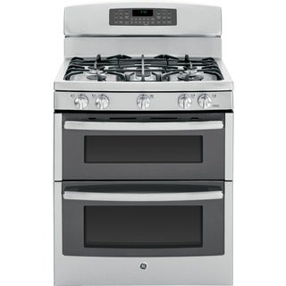 GE Profile Series 30-inch Free-standing Gas Double Oven with Convection Range