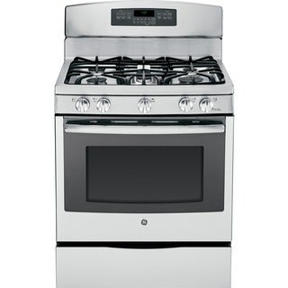 GE 30-inch Free-standing Gas Convection Range