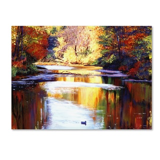 David Lloyd Glover 'Reflections of August' Gallery Wrapped Canvas Wall Art