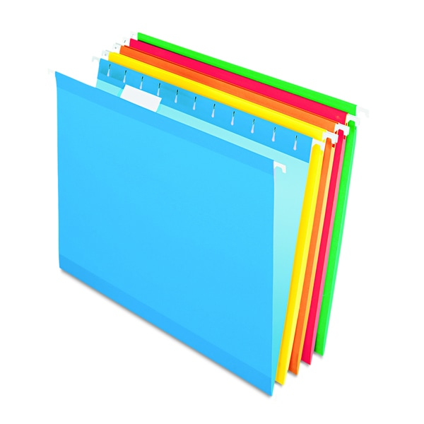 Pendaflex Reinforced Assorted Hanging Folders 15727471