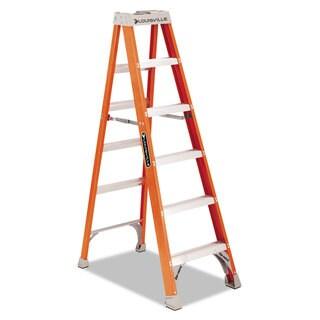 Louisville Fiberglass Heavy Duty Orange Step Ladder