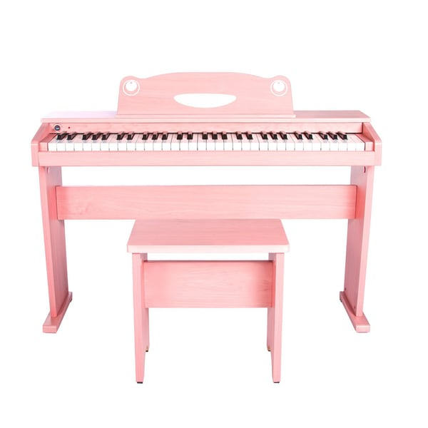 Artesia FUN-1 Childrens 61-Key Digital Piano + Bench (Pink)