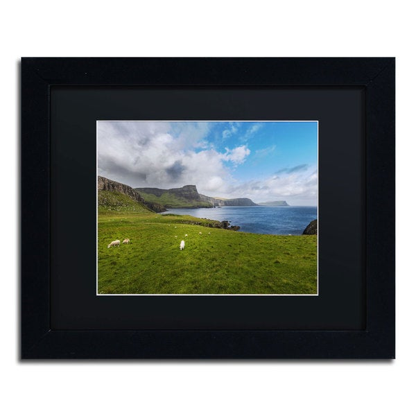 Philippe Sainte-Laudy 'A Place with No Name' Black Framed Canvas Wall Art