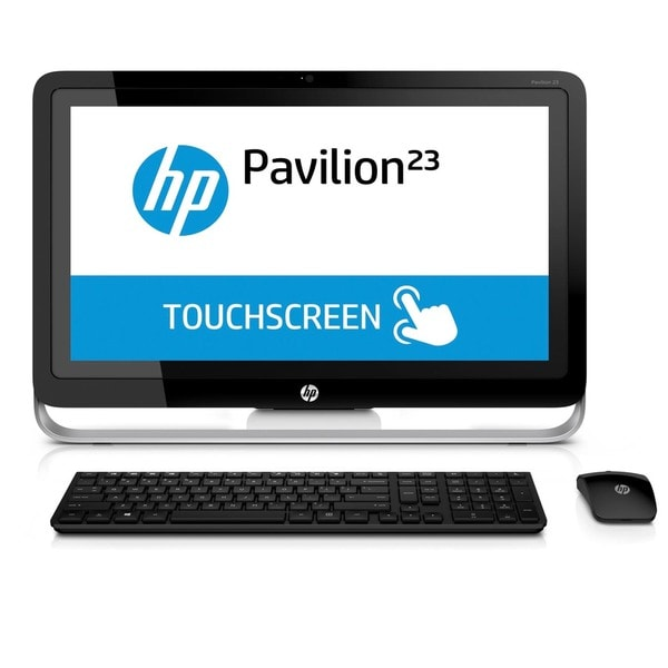 HP Pavilion 23-p110 AMD A8 Quad-Core 23-Inch Touch-Screen All-In-One PC Desktop