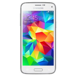 Samsung Galaxy S5 Mini G800H 16GB HSPA+ Unlocked GSM Dual-SIM Phone - White (Refurbished)