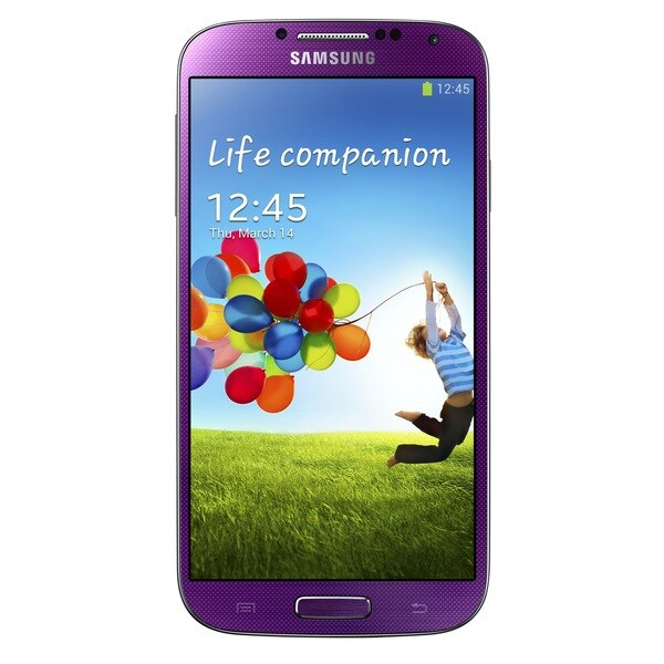 Samsung Galaxy S4 I9500 16GB Unlocked GSM Octa-Core Android Phone - Purple (Refurbished)