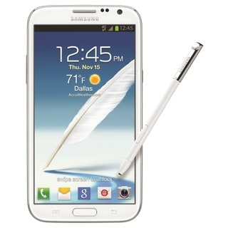 Samsung Note 2 I317 16GB AT&T Unlocked GSM 4G LTE Quad-Core Phone - White (Refurbished)