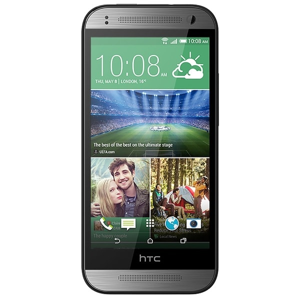 HTC One Mini 2 16GB Unlocked GSM 4G LTE Android Cell Phone - Grey (Refurbished)