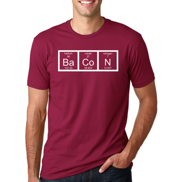 Men's Bacon Chemistry Cotton T-shirt