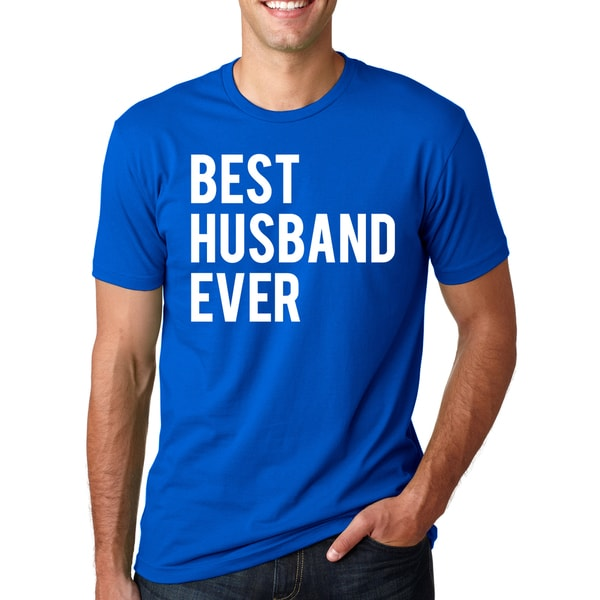 Men's Best Husband Ever Cotton T-shirt