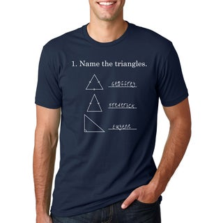 Men's Name The Triangles Cotton T-shirt